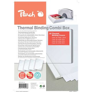 PEACH -- Thermal Binding Covers Comb Box PBT100-14
