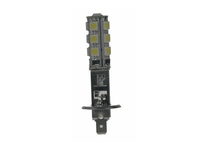 LED žárovka 12V, H1, 13LED/3SMD