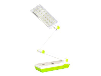 Lampa LED stolná TIROSS TS-53, 24 LED, 1000 mAh zelená