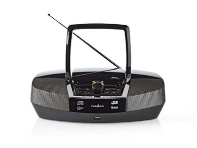 Rádio FM / USB / CD / BLUETOOTH NEDIS SPBB200BK BLACK
