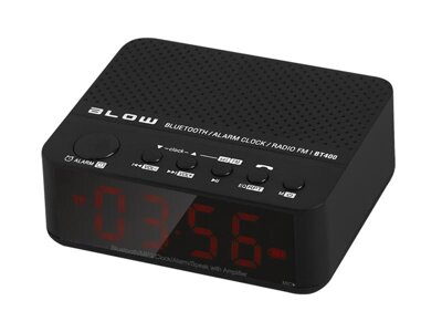 Reproduktor prenosný BLOW BT400 BLUETOOTH, SD, FM, HandsFree, AUX-IN, hodiny/budík