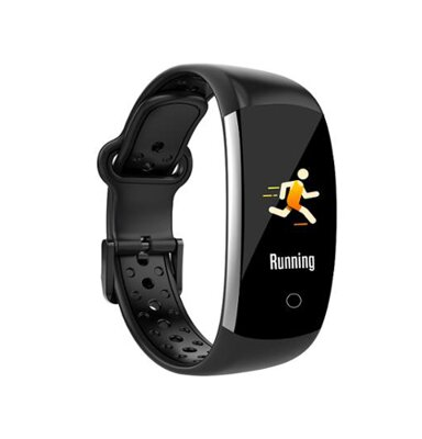 Náramok fitness iGET FIT F2 BLACK