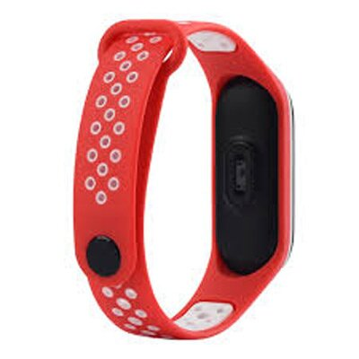 Remienok XIAOMI MI BAND 3 SPORT RED / WHITE