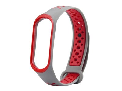 Remienok XIAOMI MI BAND 3 SPORT WHITE / RED